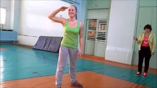 Урок физкультуры в 9 классе