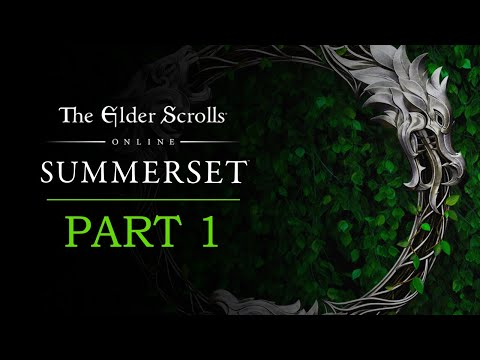 The Elder Scrolls Online Summerset Gameplay Part 1 – The Mind Trap – TESO Let's Play Series