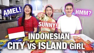 WHAT ARE THEIR TOP 5 INDONESIAN SNACKS: INDONESIAN CITY GIRL VS INDONESIAN ISLAND GIRL