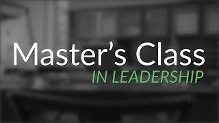 Master's Class Trailer