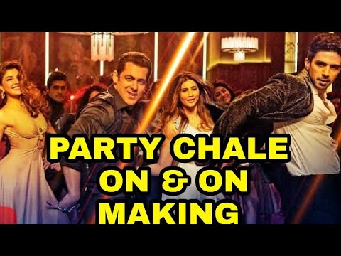 "Race 3 ""Party Chale On Song Making""- Behind The Scenes 