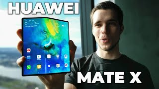 Huawei Mate X Review - The BEST Foldable Smartphone 2019 !