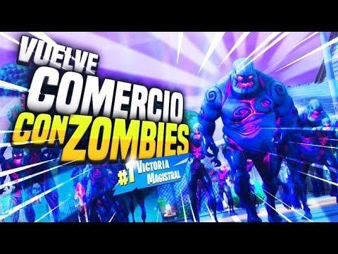 *NUEVO* CIUDAD COMERCIO CON ZOMBIES!! | FORTNITE