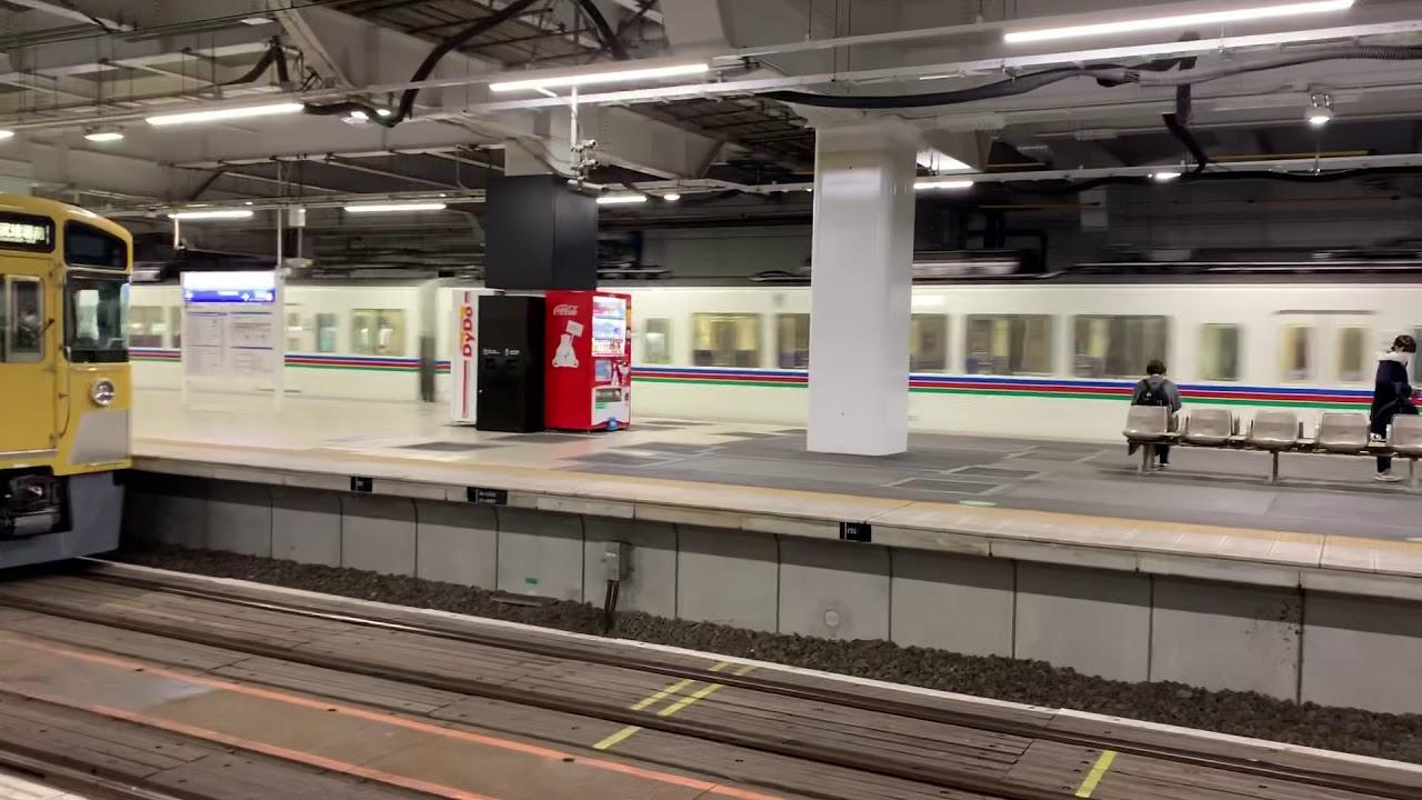 西武4000系 急行池袋行き 所沢駅