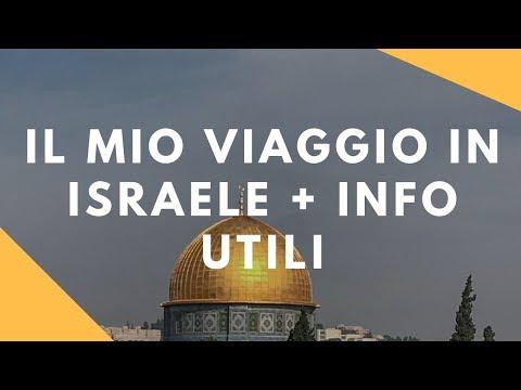 IL MIO VIAGGIO IN ISRAELE + INFO UTILI | SHINYINNA