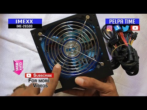 Imexx Ultra Silent Power 500W Switching Power Supply IEM 26500 (UNBOXING)