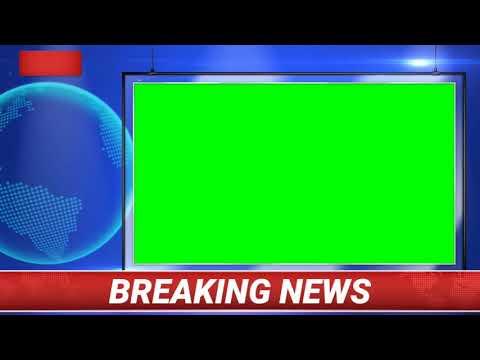 Top 3D Breaking News Green Screen Effects | live breaking news green screen effects 2019