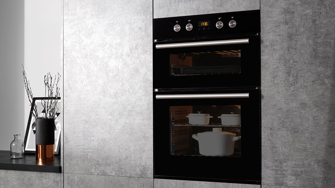 hotpoint class 2 dd2 844 c bl built in double oven