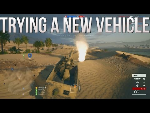 Trying a New Vehicle (Artillery Truck) - PS4 Battlefield 1 Road to Max Rank Ep. 110! (PS4 BF1)