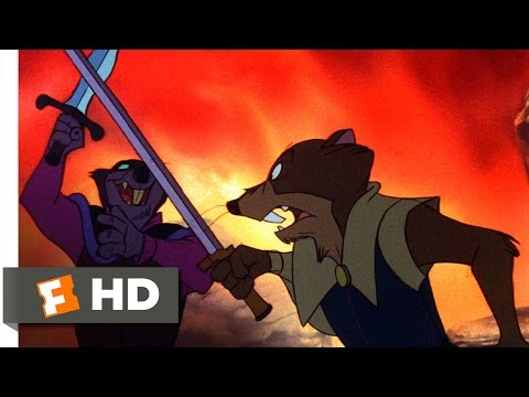 The Secret of NIMH (8/9) Movie CLIP - Justin Duels Jenner (1982) HD