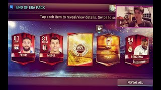FIFA Mobile 18 Preseason 99 Hunt END OF AN ERA PACK OPENING!!! 99 Hunt!! | FIFA 18 Mobile iOS Preszn