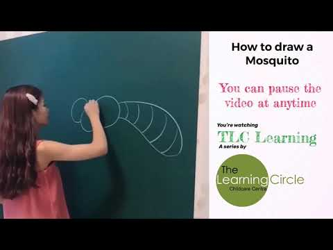 """How to draw a Mosquito 