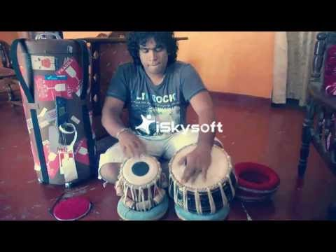 Kaayna Musicals (EXOTICHUB)- Black Brass Tabla Drum- By Great Artist Sir Waruna Rathnayaka Srilanka