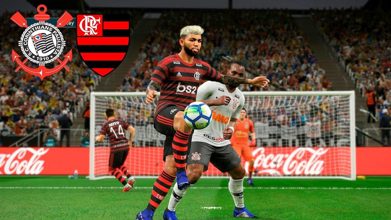 Corinthians x Flamengo - COPA DO BRASIL 2019 OITAVAS DE