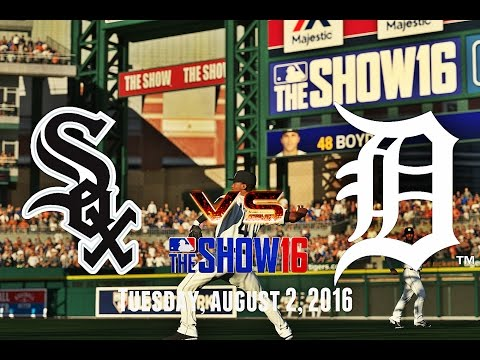 FALLING BEHIND EARLY! (Chicago White Sox @ Detroit Tigers) MLB The Show 16 Franchise Mode