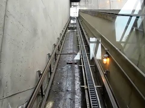 Exploring The Metro A Diagonal Elevator Inclinator At
