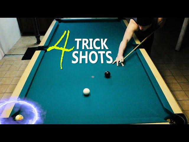 4 Pool Trick Shots: Volume 11