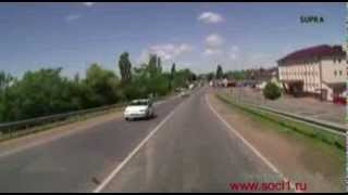 Поездка к морю на машине дорога Армавир Майкоп