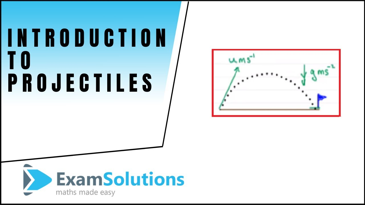 Download Projectiles and the Suvat equation : Introduction : Tutorial 1 : ExamSolutions