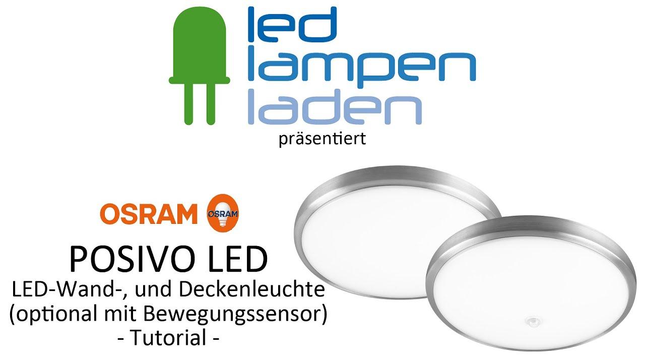 OSRAM LED Lampen | OSRAM POSIVO LED (Sensor) | Ihr LED-Lampenladen ...