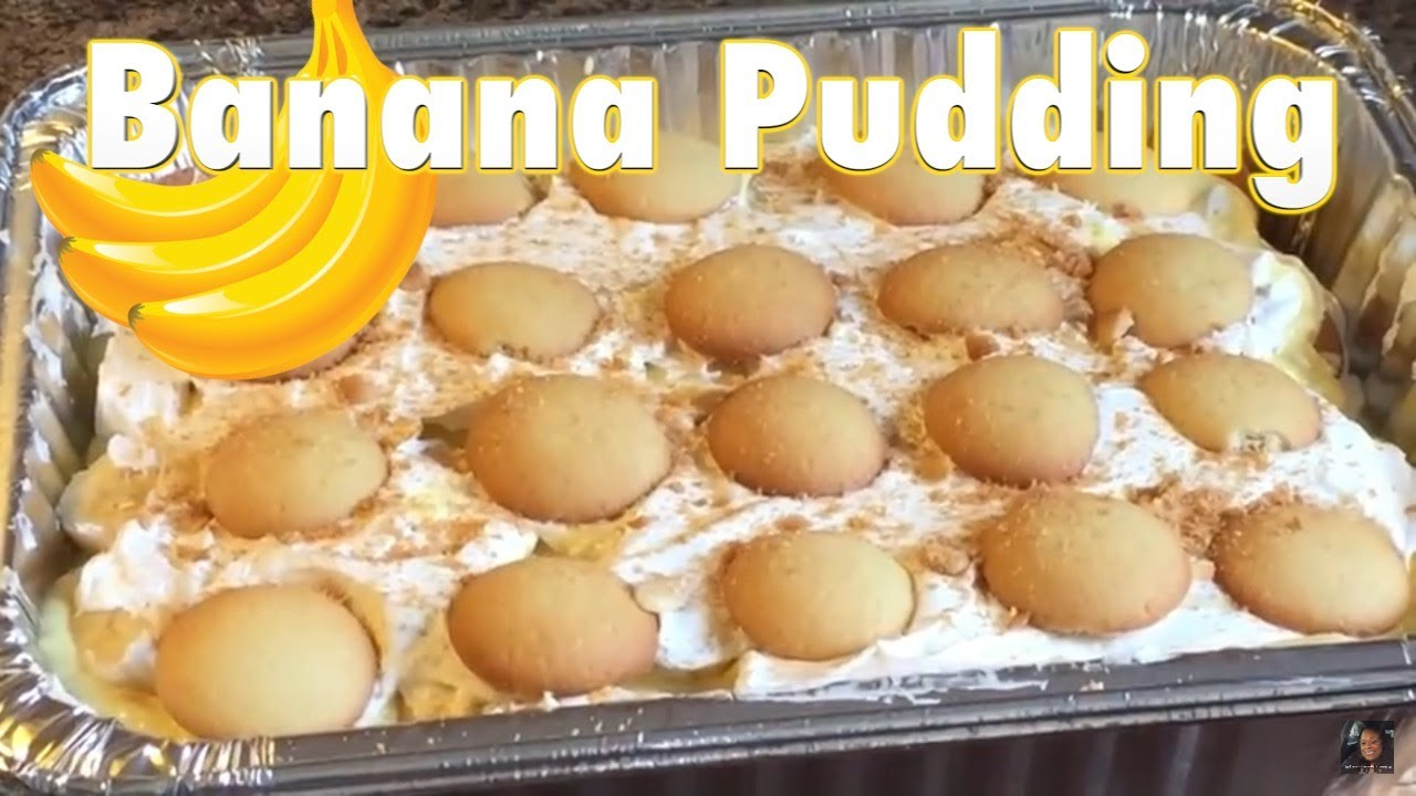Southern Banana Pudding Recipe With Instant Pudding
