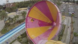 Pacific Spin (HD) - Water slide at Knotts Berry Farm Soak City : Orange County, CA