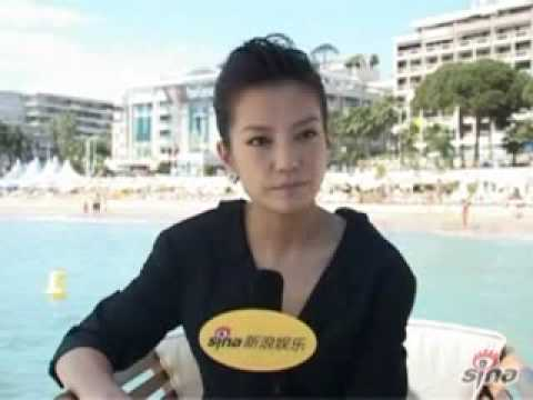 Vicki Zhao Wei interview at Cannes Film Festival1