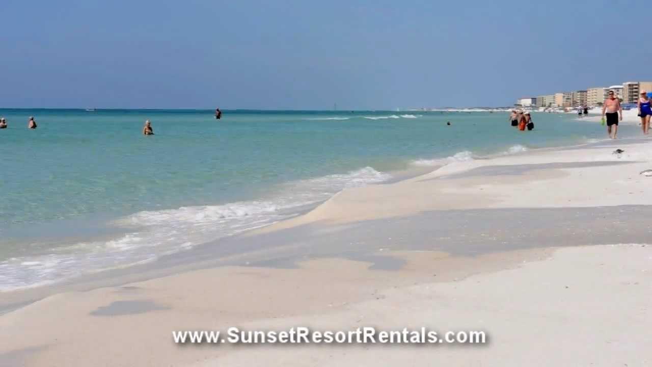 Beautiful Beaches Of Okaloosa Island Fort Walton Beach Destin Florida