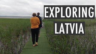 Exploring LATVIA | Rāznas lake, abandoned houses, camping