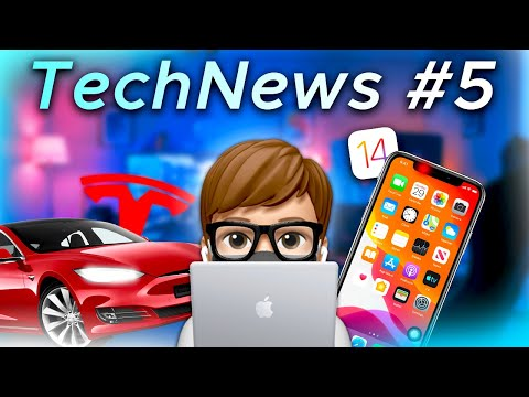 TechNews #5 - Nouvelle Tesla, iOS 14.5, ...
