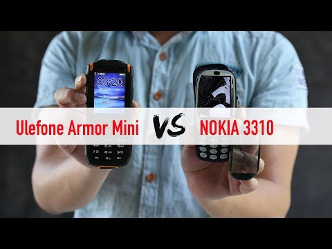 IP68 Ulefone Armor Mini Stacks up against Nokia 3310 in Outdoor Capacity