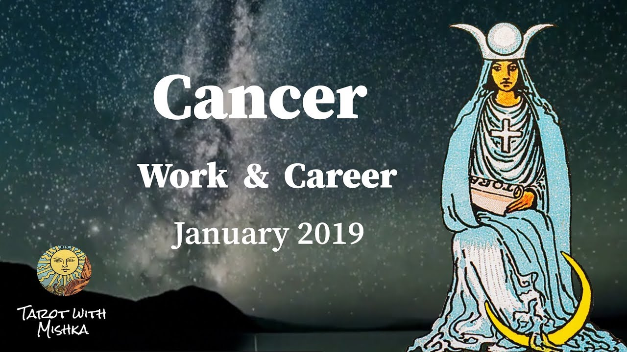 Free Cancer Tarot Monthly Horoscope December 2018