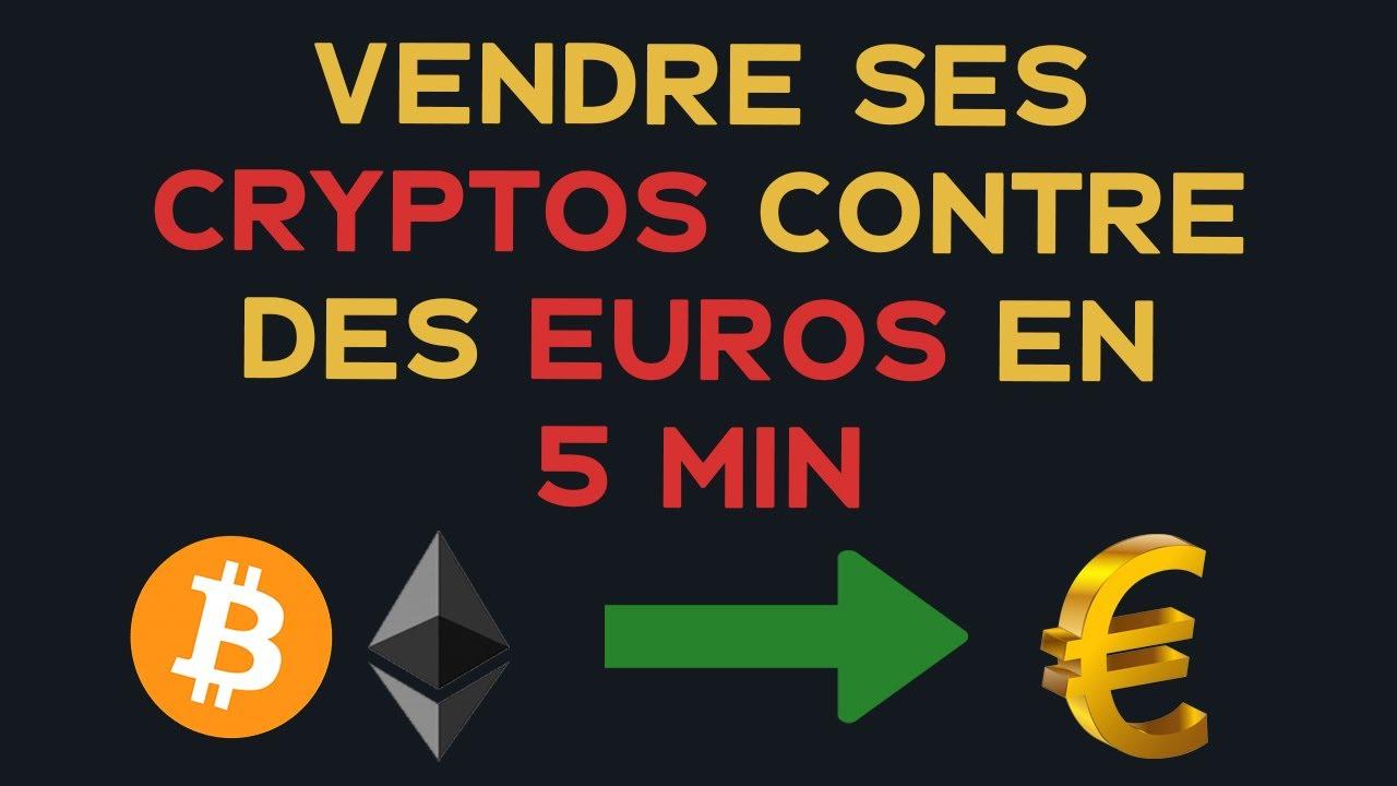 Vendre ses cryptos en euros avec Binance en 5 min