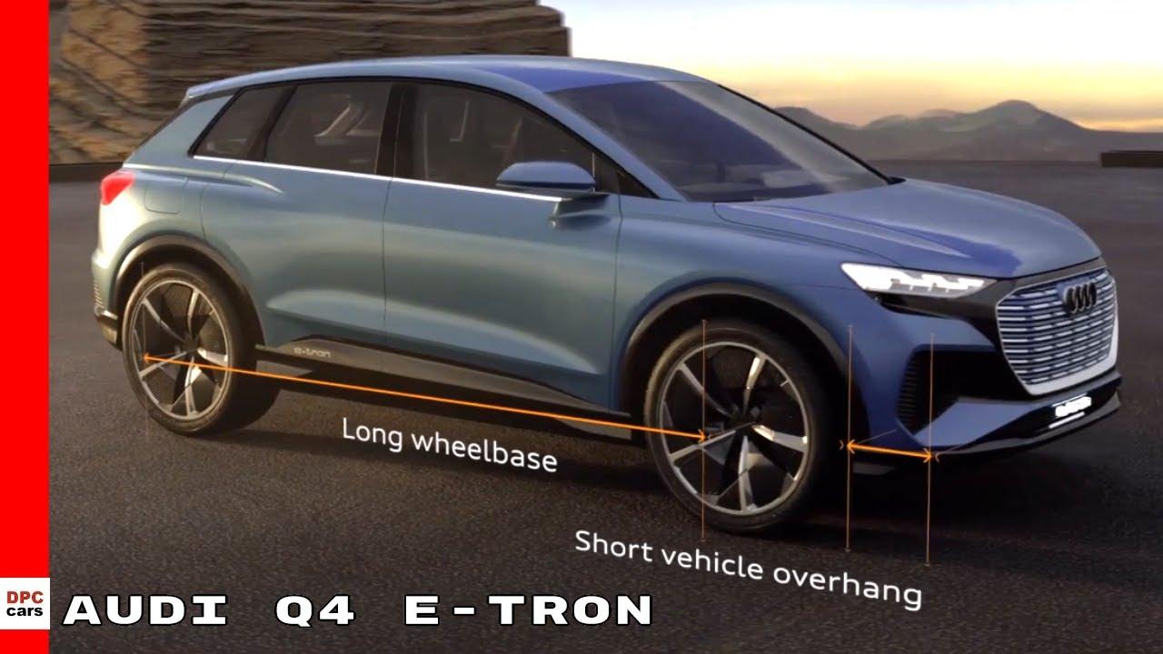 Audi Q4 E Tron Explained Youtube