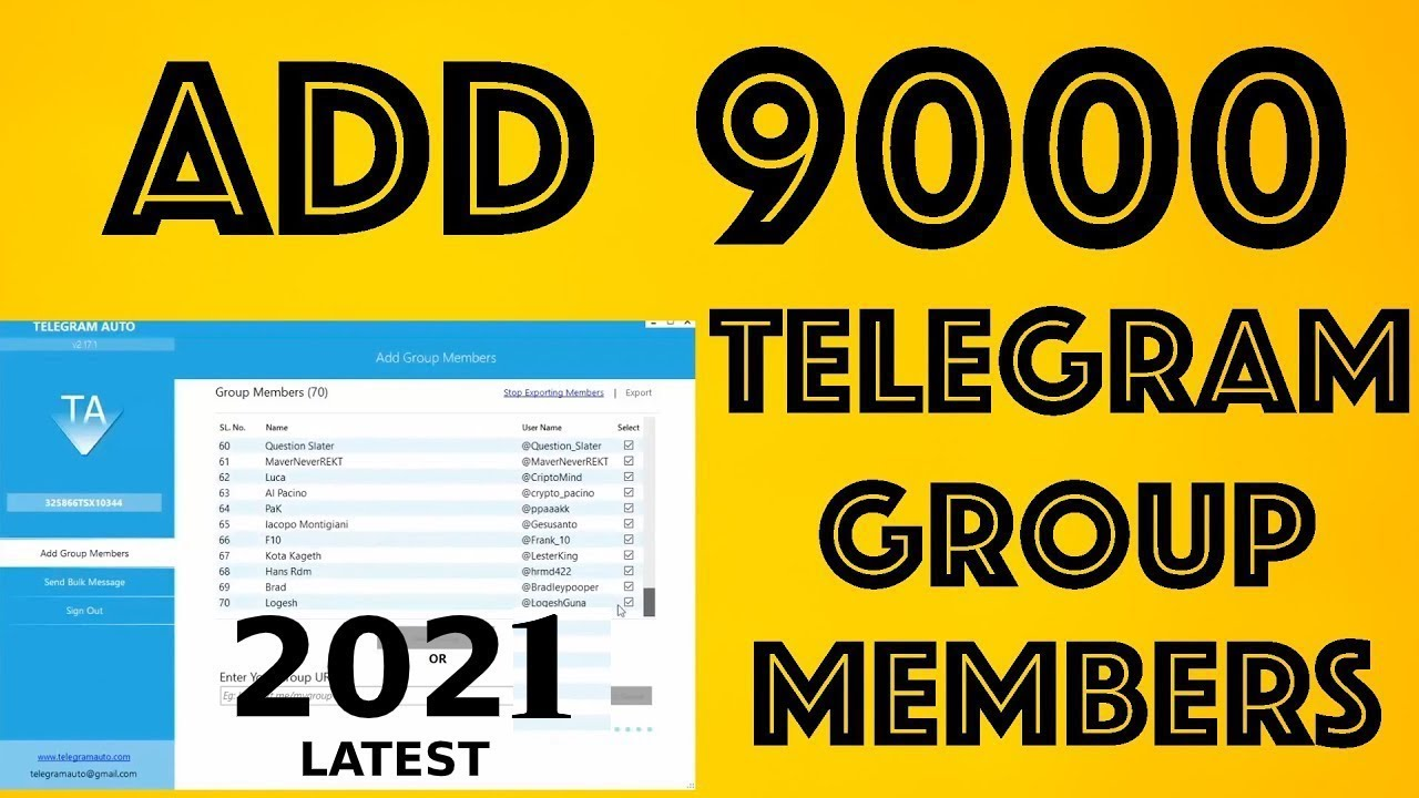 The best: how to add member telegram channel