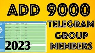 How to Add Telegram Group Members