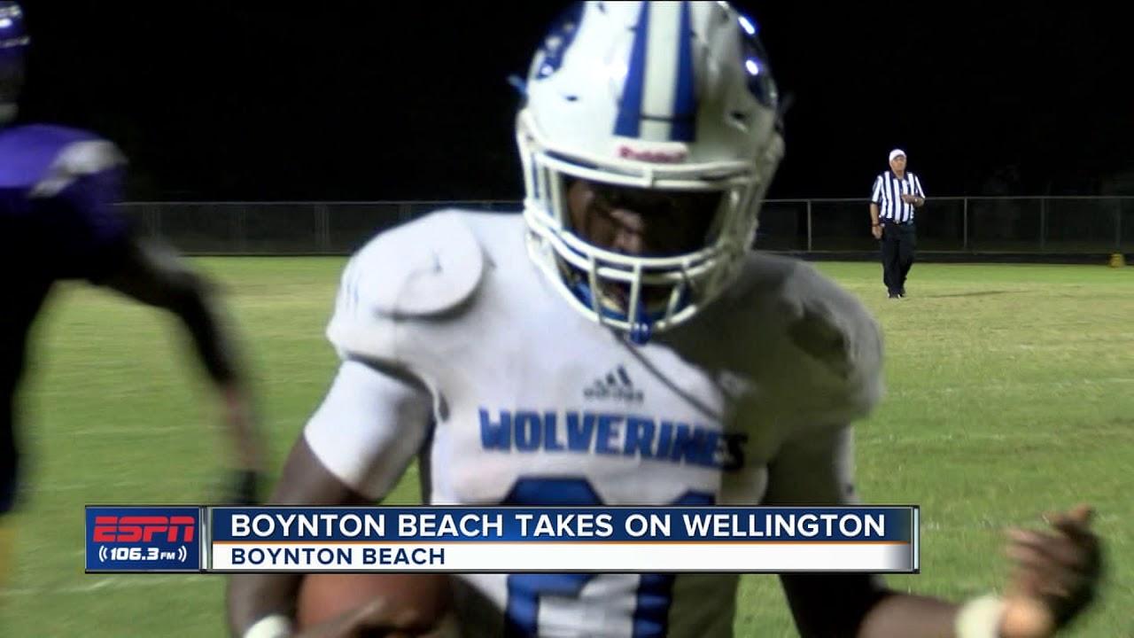 Wellington Vs Boynton Beach Football