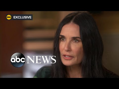 Demi Moore opens up about her marriages to Bruce Willis, Ashton Kutcher l ABC News l Part 2/3