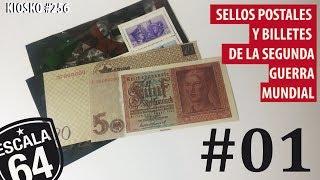 BILLETES Y SELLOS POSTALES COLECCION CLARIN
