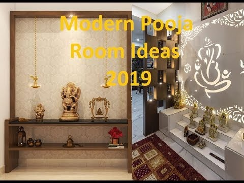 Modern Pooja Room Ideas 2019 Youtube