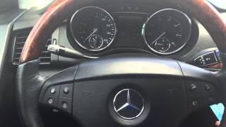 Як налаштувати годинник на Мерседес Бенц Р-Клас R350 або R500