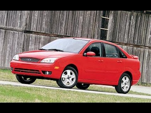 Auto Repairs –  2005 Ford Focus –  Front Brake Inspection