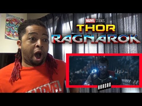 """Thor: Ragnarok"" Official Trailer REACTION & REVIEW (WELL... THAT WAS DIFFERENT!!)"