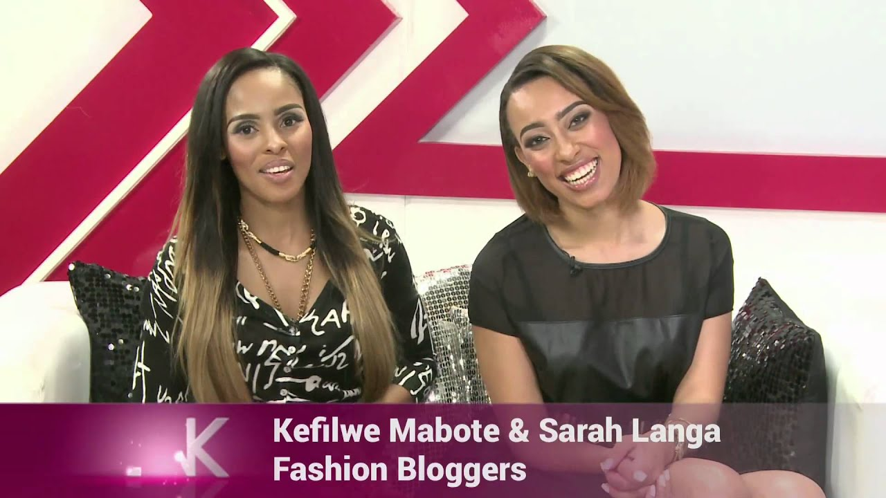 Next Week On The Link We Host Fashion Bloggers Sarah Langa And Kefilwe Mabota Youtube