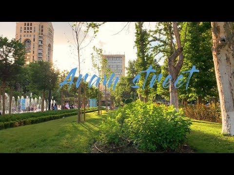 Green Yerevan: Aram Street 4K 60FPS