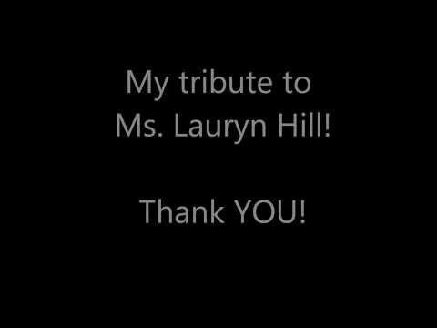 Ms. Lauryn Hill - Consumerism (Remix/Tribute)