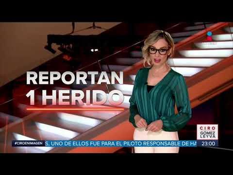 Árbol de Navidad se cae en Plaza Manacar | Noticias con Ciro Gómez Leyva