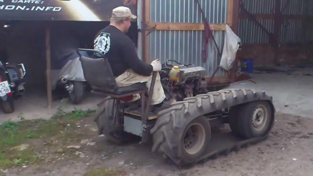 Сделай сам своими руками мини трактор