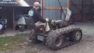 Гусеничный трактор, сделай сам 5