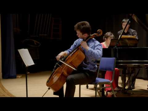 Cellist Jonah Ellsworth | Rachmaninoff Cello Sonata . Opus 19 . Movt. 3